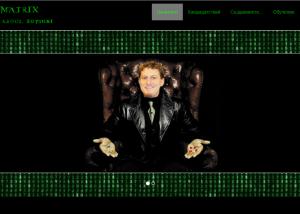Website Project - SoftMatrix