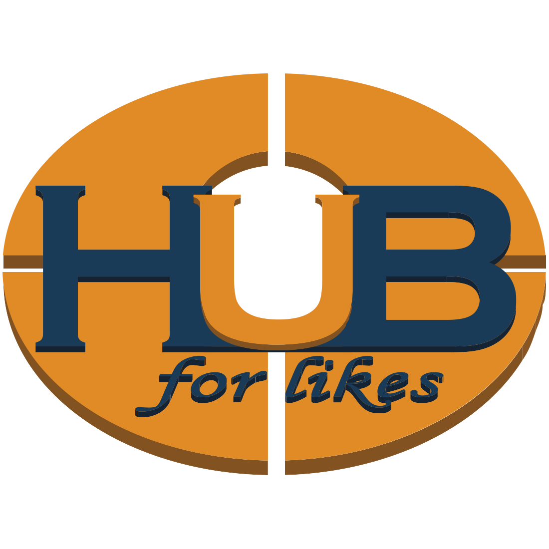 Hub for Likes - лого
